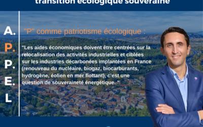 📣Nous lançons un APPEL pour une transition écologique souveraine !