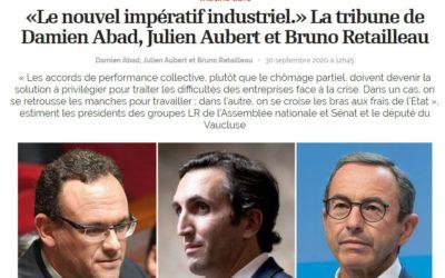 «Le nouvel impératif industriel.»